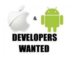 Android and IOS Developers with a handsome salary