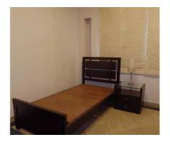 Single bed and side table for sale