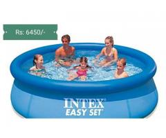 Intex 8 feet swimming pool Easy sett 30 inches height FOR SALE
