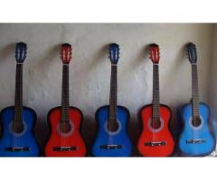 Colorfull Guitars New Beginners Level Box paked with pick free for sale