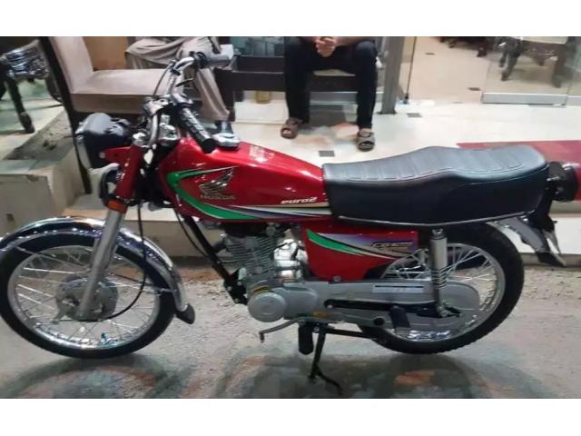 Honda Cg 125 FOR SALE IN GOOD PRICE