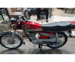 Honda Cg 125 FOR SALE IN GOOD PRICE