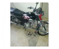 Yahma dhoom70 bike A1 condition one hand use first owner