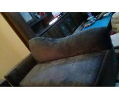 Seven seater sofa set and setti for sale in good amount