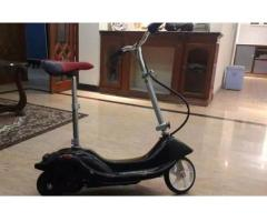 Electric scooter for sale in good amount