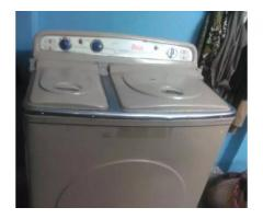 urgent sale!Double Asia washing machine for sale in good amount