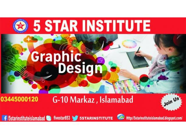 Graphic Designing Course with 5 STAR INSTITUTE,