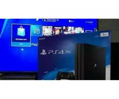 Ps4 pro PlayStation 4 pro , VR LB , warranty card , brand new , two core