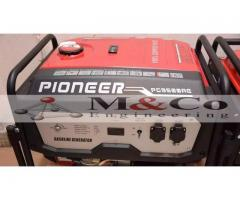 Best Generator Best Performance New Gas Petrol 3Kv To 8KvA FOR SALE
