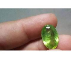 Natural Peridot 7.5 carat FOR sale in good amount