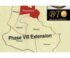 10 Marla Plot in Bahria Rawalpindi Phase-8 Extention for sale in good amount
