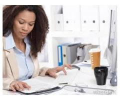 Office assistant required female with  GOOD MONEY