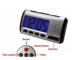 Spy Clock Camera Motion Activated Hidden Security DVR for sale