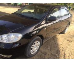 Toyota Corolla 2003 Black Color for sale in good rates
