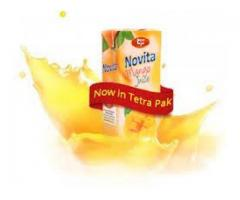 Novita juices and Milk for sale in good amount