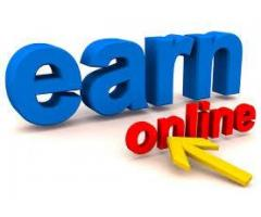 Online job earn money if you want that