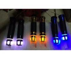 Grips with indicator lights rizoma branded not copy FOR SALE