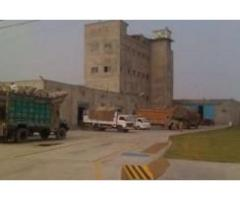 12 roller body Flour Mill • Approx. 2 acre land • FOR SALE