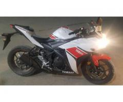 Yamaha R3 for sale in good demands