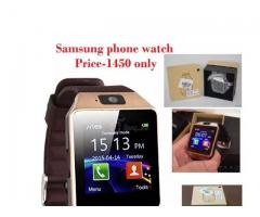 Samsung phone watch FOR sale in good amount