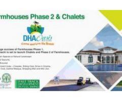 DHA Oasis Karachi Farmhouses Phase 2 : Farmhouses on easy installments