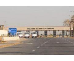 Residential Plot for sale in DHA City Sector 4 B Karachi.