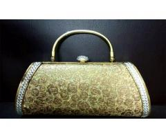 Golden Clutch Bridal For sale in good amount