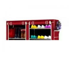 Shoe Rack Double A portable Shoes Pronunciation tray makes the life for sale
