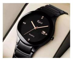Race RD-29 pure Black watch with 1 year machine warranty for sale