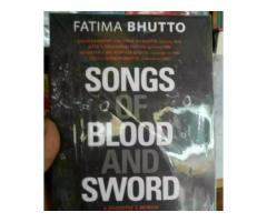 Songs of Blood And Sword by Fatima Bhutto for sale