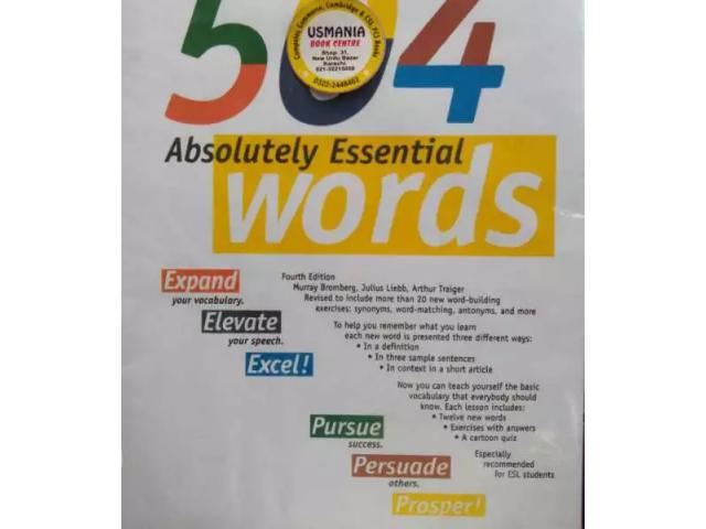 504 Absolutely Essential Words by BARRONS Inc. for sale