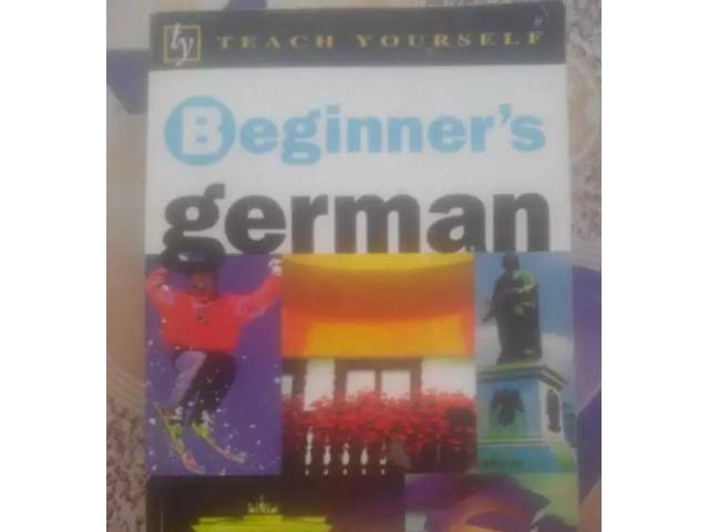 Beginner's GERMAN for sale in good rates