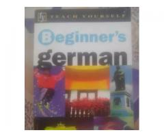 Beginner's GERMAN for sale in good rates