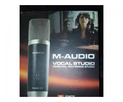 M audio vocal studio usb condenser mic for sale