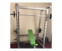 Commercial gym equipments for sale in good amount