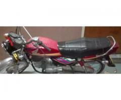 Honda 100 08 model red color for sale