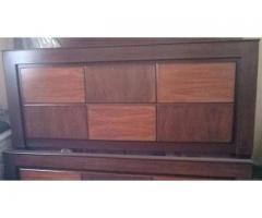 Hamesha sasta Brand new shisham and Ash wood bed in whole saler price.
