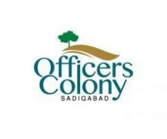 Officers Colony Sadiqabad:   Plots on installments