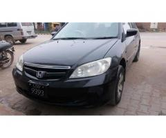 honda civic for sale 2005 for sale in good amount