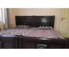 Two single bed for sale in good amount
