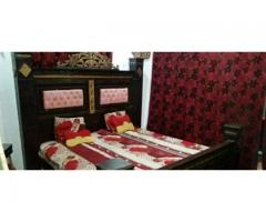 4 pice furniture good condition without mattress for sale