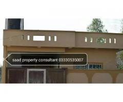7.5 marla single story brand new house in bangla for sale