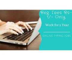 Offering online typing job