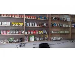 Mobile shop Full opption model town link Road for sale