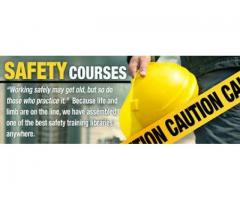 Required job safety courses candidate