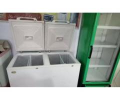 Waves Freezer Double door Brand new Condition for sale