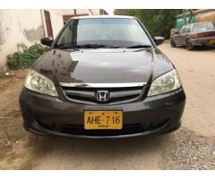 Honda civic VTI prosmatic 2005 for sale