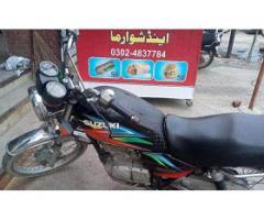 Suzuki 125cc bike for sale in good amount