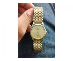 Original brand used watch for sale in good amount