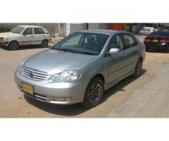 Toyota corolla se saloon manualmodel 2005 first owner original